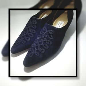 Evan-Picone Italian Leather Heel Sz 7 1/2